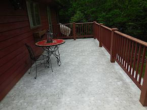 Easton patio cleaning process